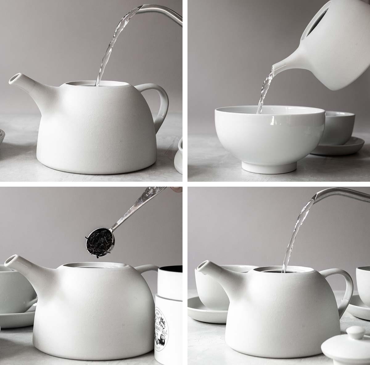 perfetta tazza di tè