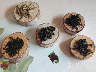 I 5 colori della cromoterapia nei tè